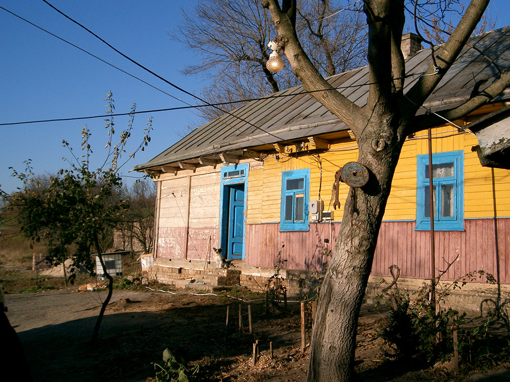 Opvang voor mannen, mannenhuis in Novovolynsk, Oekraïne.