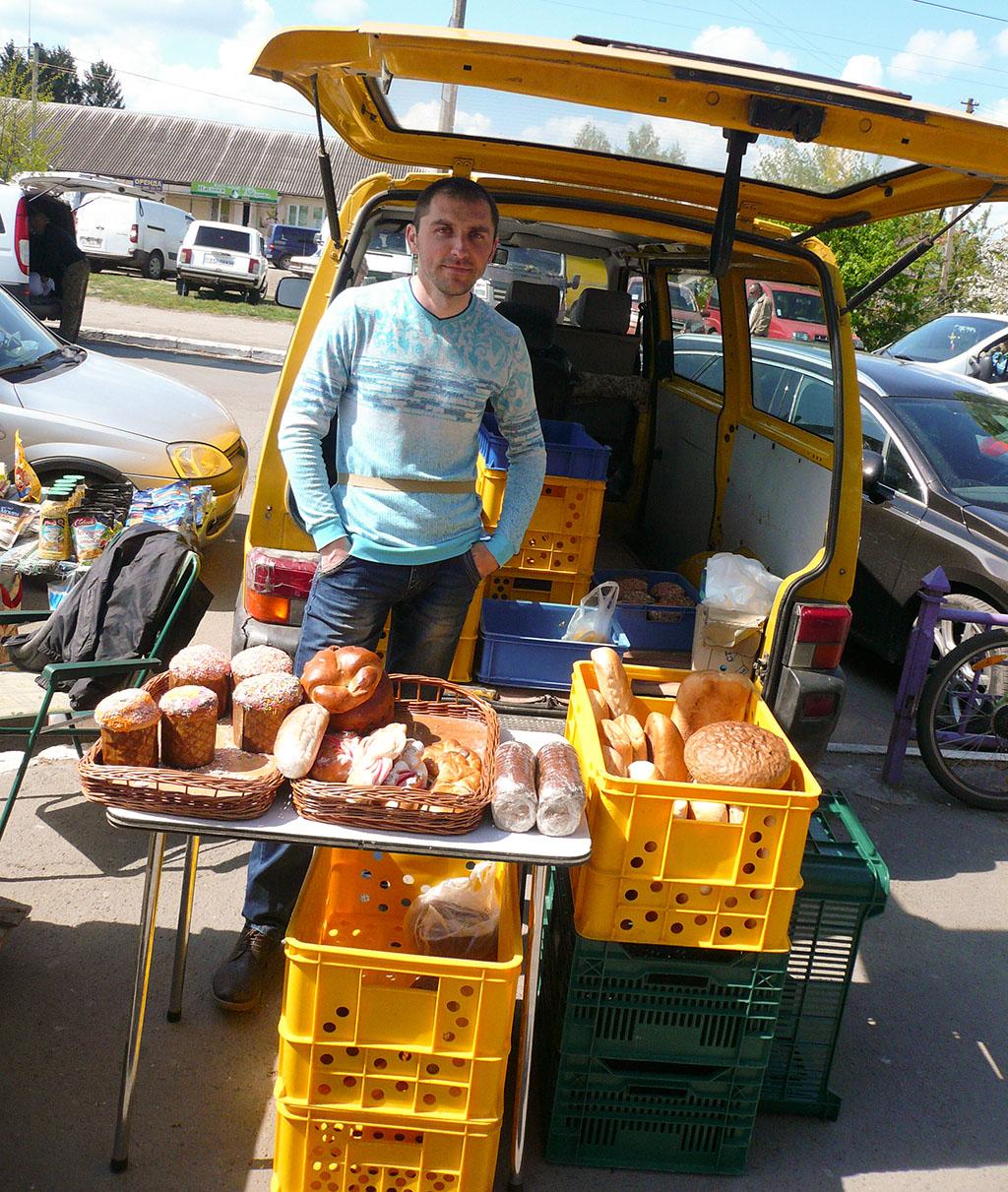 verkoop van brood