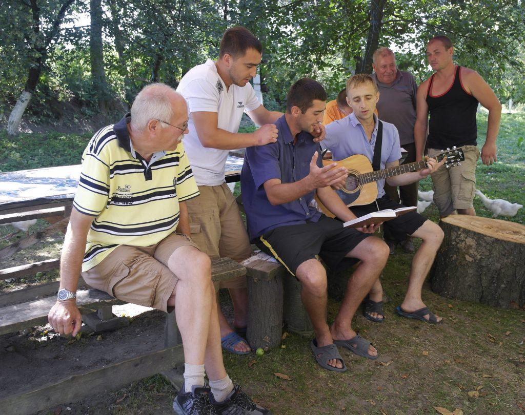 Oekraïne, Dihitiv, augustus 2016 Opvang, rehab voor mannen.