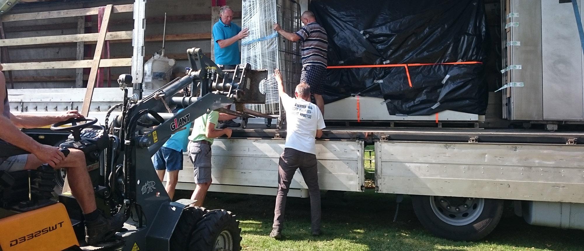 hulptransport uit Nederland