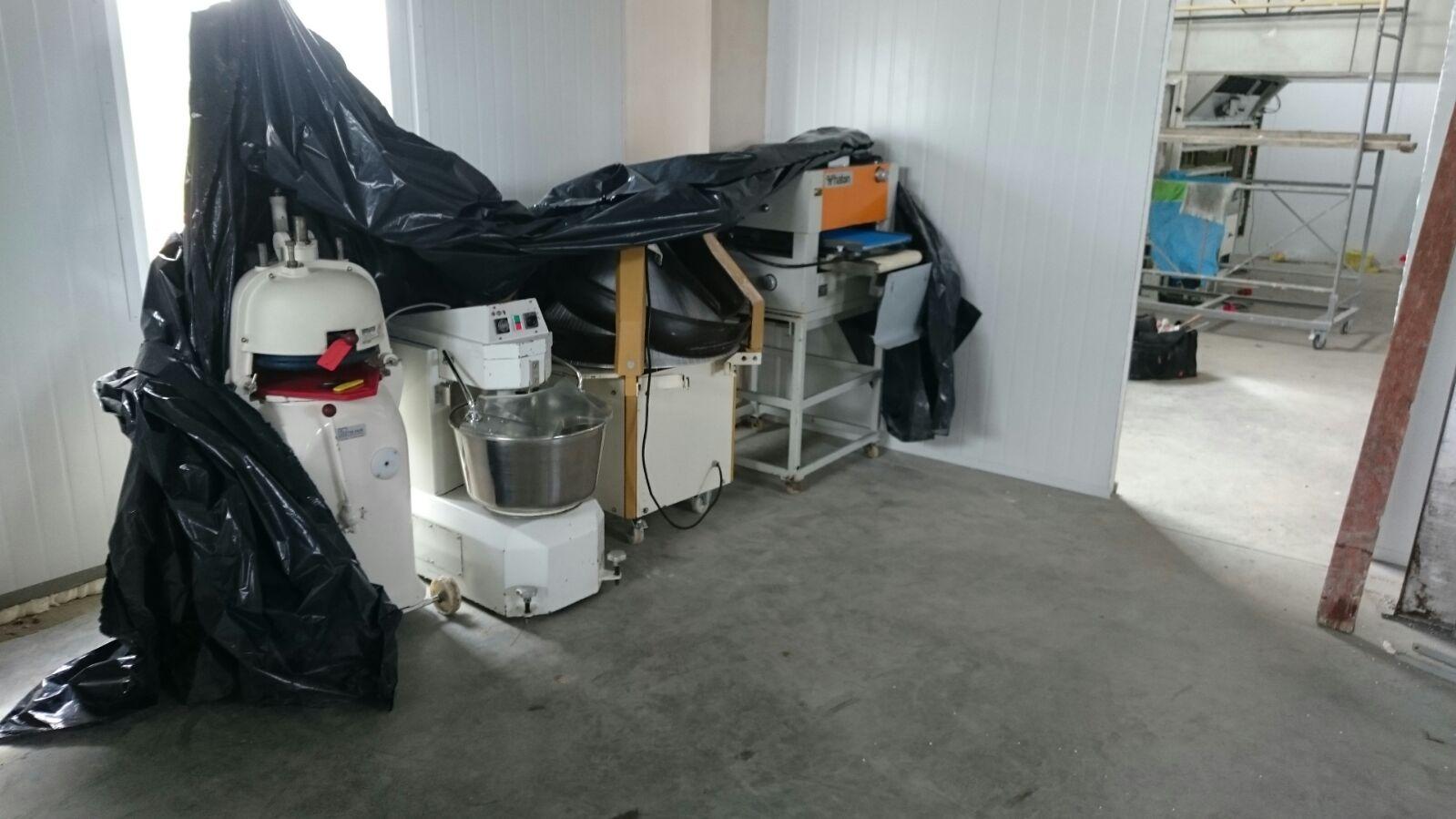 apparatuur nieuwe bakkerij